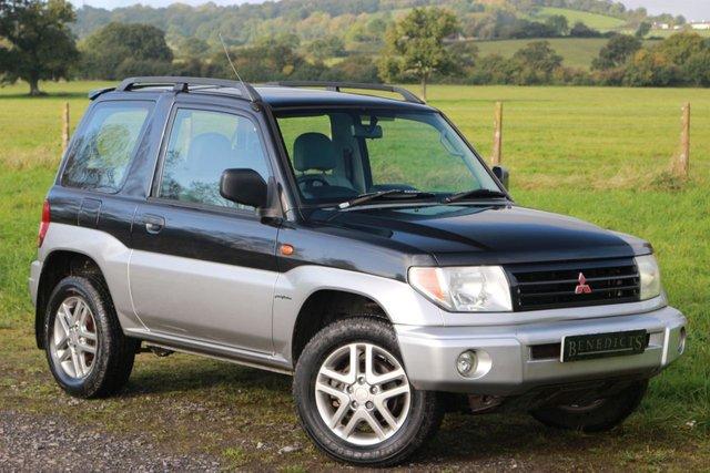 2004 53 MITSUBISHI SHOGUN PININ 1.8 VIVO II CLASSIC MPI 3d AUTO 113 BHP