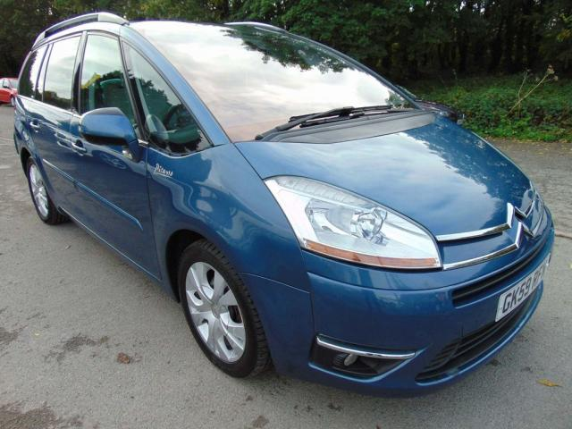 2009 59 CITROEN C4 GRAND PICASSO 2.0HDi 16V Exclusive 5dr EGS