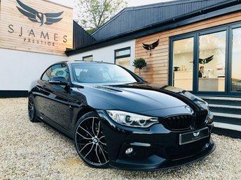2017 BMW 4 SERIES 2.0 420D M SPORT 2d 188 BHP £19990.00