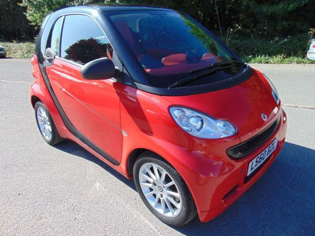 2010 60 SMART FORTWO coupe Passion mhd 2dr Softouch Auto [2010]