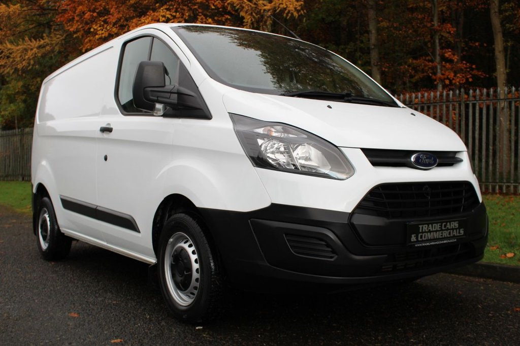 USED 2016 16 FORD TRANSIT CUSTOM 2.2 270 LR P/V 99 BHP A CLEAN ONE COMPANY OWNED TRANSIT CUSTOM WITH FULL HISTORY!!!