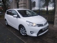 USED 2016 65 TOYOTA VERSO 1.6 D-4D ICON 5d 110 BHP *FINANCE ARRANGED*PART EXCHANGE WELCOME*1 OWNER*£30 TAX*7 SEATS*BTOOTH*CRUISE*STOP/START*NAV READY*DAB*A/C