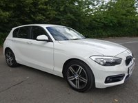 2015 BMW 1 SERIES 1.5 116D SPORT 5d AUTO 114 BHP £9990.00
