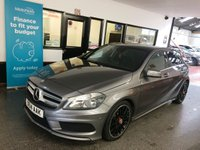 2014 MERCEDES-BENZ A CLASS 2.1 A220 CDI BLUEEFFICIENCY AMG SPORT 5d AUTO 170 BHP £13995.00