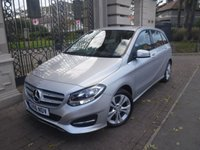 USED 2016 16 MERCEDES-BENZ B CLASS 2.1 B 200 D SPORT 5d 134 BHP *FINANCE ARRANGED*PART EXCHANGE WELCOME*1 OWNER*£30 TAX*LEATHER*NAV*AC*SERVICE HISTORY*CAMERA*BTOOTH*A/C