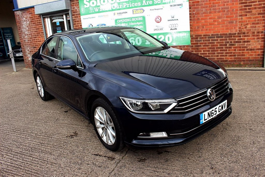 USED 2015 65 VOLKSWAGEN PASSAT 1.6 SE TDI BLUEMOTION TECHNOLOGY 4d 119 BHP +ONE OWNER +LOW TAX +FSH.