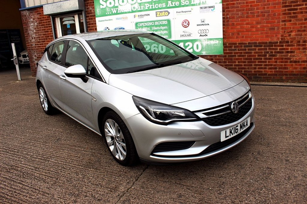 USED 2016 16 VAUXHALL ASTRA 1.6 DESIGN CDTI S/S 5d 134 BHP +ONE OWNER +LOW TAX +FSH.