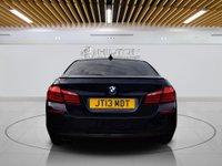 "USED 2013 13 BMW 5 SERIES 2.0 520D M SPORT 4d AUTO 181 BHP **FREE RAC 6 MONTHS WARRANTY INC** Sat Nav | Leather | 19"" Alloys | Sunroof"