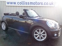 2013 MINI CONVERTIBLE 1.6 COOPER D HIGHGATE 2d 110 BHP £8999.00