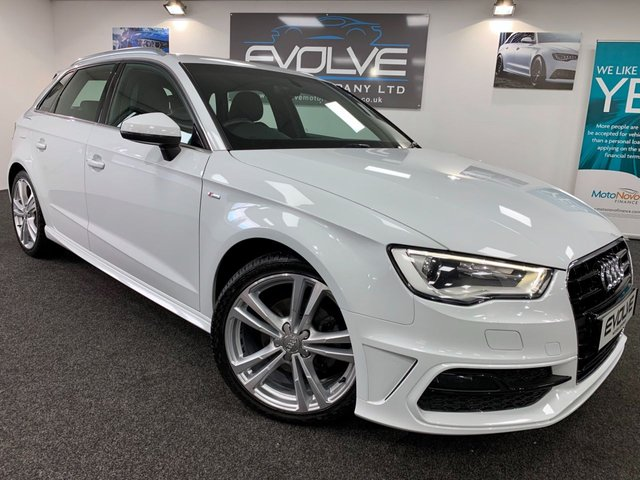 USED 2015 65 AUDI A3 2.0 TDI S LINE 5d 148 BHP IMMACULATE INSIDE & OUT! NAV!