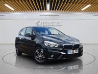 "USED 2016 66 BMW 2 SERIES 2.0 218D SPORT ACTIVE TOURER 5d AUTO 148 BHP **FREE FROM ULEZ CHARGE** Sat Nav | 17"" Alloys"
