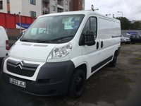 2012 CITROEN RELAY 2.2 35 L2H1 HDI 129 BHP NO VAT £7499.00