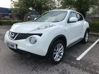 2013 NISSAN JUKE 1.6 ACENTA PREMIUM 5d AUTO 117 BHP £7450.00