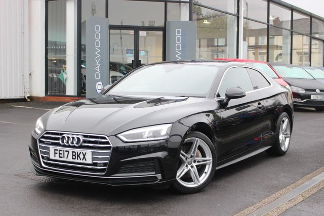 USED 2017 17 AUDI A5 2.0 TDI 190 BHP S line Auto S Tronic quattro (s/s) 2dr