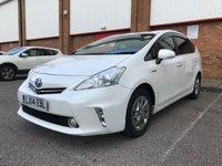 2014 TOYOTA PRIUS PLUS 1.8 HYBRID VVTI EXCEL AUTO 7 SEATS SOLD