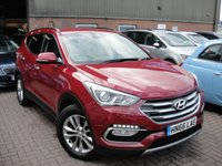 USED 2016 66 HYUNDAI SANTA FE 2.2 CRDI PREMIUM BLUE DRIVE 5d 197 BHP ANY PART EXCHANGE WELCOME, COUNTRY WIDE DELIVERY ARRANGED, HUGE SPEC
