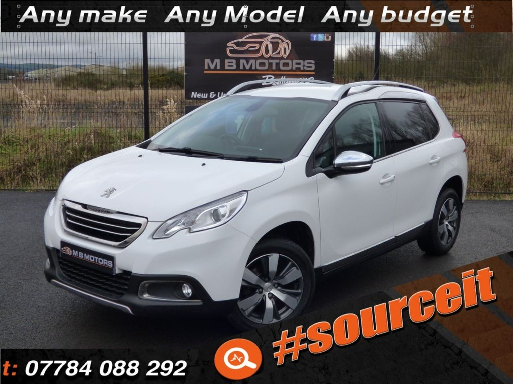 USED 2016 PEUGEOT 2008 ALLURE 1.6 BLUE HDI 5d 100 BHP #SOURCEIT