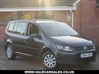 2014 VOLKSWAGEN TOURAN 1.6 TDI BLUEMOTION TECHNOLOGY S (7 SEATS) 5dr £8990.00