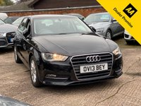 USED 2013 13 AUDI A3 1.6 TDI SE 5dr AUTO  1 Former keeper, Full History, electric heated seats.