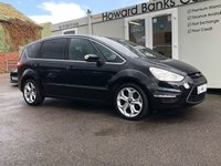 USED 2012 12 FORD S-MAX 2.0 TITANIUM TDCI 5d 138 BHP AIR CON + ALLOYS + AUTO WIPERS + AUTO LIGHTS