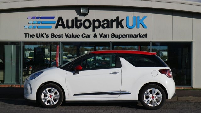 USED 2013 13 CITROEN DS3 1.6 E-HDI DSTYLE RED 3d 90 BHP LOW DEPOSIT OR NO DEPOSIT FINANCE AVAILABLE