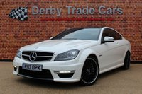 USED 2013 53 MERCEDES-BENZ C CLASS 6.2 C63 AMG 2d AUTO 457 BHP
