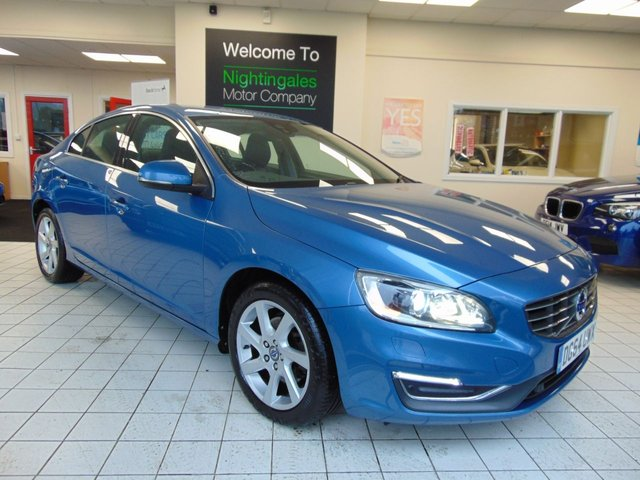 USED 2014 64 VOLVO S60 2.0 D4 SE LUX NAV 4d 180 BHP NEWER MODEL WITH THE LATEST AWARD WINNING ENGINE. ZERO ROAD  TAX, SUPERB PERFORMANCE AND ECONOMY, TWO OWNERS, FULL SERVICE HISTORY, TOP SPECIFICATION PLUS MANY FACTORY COST OPTIONS.
