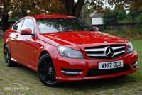 USED 2012 12 MERCEDES-BENZ C CLASS C180 BLUEEFFICIENCY AMG SPORT AUTO [156 BHP]