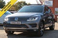 2015 VOLKSWAGEN TOUAREG 3.0 V6 R-LINE TDI BLUEMOTION TECHNOLOGY 5d AUTO 259 BHP £18995.00