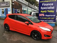 USED 2013 13 FORD FIESTA 1.0 ZETEC S 3d 124 BHP, only 65000 miles ***APPROVED DEALER FOR CAR FINANCE247 AND ZUTO ***