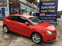 2014 SEAT IBIZA 1.4 TOCA 3d 85 BHP, only 37000 miles £5995.00