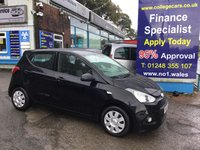 USED 2014 63 HYUNDAI I10 1.0 S AIR 5d 65 BHP, only 40000 miles ***APPROVED DEALER FOR CAR FINANCE247 AND ZUT0  ***