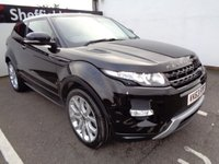 USED 2013 63 LAND ROVER RANGE ROVER EVOQUE 2.2 SD4 DYNAMIC 3d AUTO 190 BHP 4X4 AWD 4WD COUPE 20 Inc Alloys Climate Control 2 Keys Leather Trim Sat Nav Panoramic Roof Parking Sensors Privacy Glass