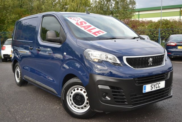 USED 2017 17 PEUGEOT EXPERT 1.6 BLUE HDI PROFESSIONAL COMPACT 95 BHP ~ SAT NAV ~ AIRCON SAT NAV ~ AIR CON ~ 6 MONTHS WARRANTY ~ 1 OWNER