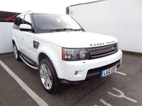 2012 LAND ROVER RANGE ROVER SPORT 3.0 SDV6 HSE LUXURY 5d AUTO 255 BHP 4X4 AWD 4WD £16975.00