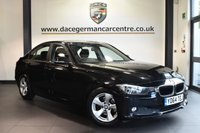 """USED 2015 64 BMW 3 SERIES 2.0 320D EFFICIENTDYNAMICS 4DR 161 BHP full service history Finished in a stunning black styled with 16"""" alloys. Upon opening the drivers door you are presented with cloth upholstery, full service history, satellite navigation, bluetooth, cruise control, dab radio, Automatic air conditioning, rain sensors, Fog lights, parking sensors"""
