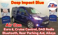 2018 FORD TRANSIT CONNECT 1.5 TDCi Euro 6 LIMITED 120 BHP in Deep Impact Blue with 23,607 Miles, Air Conditioning, Cruise Control, Bluetooth, DAB Radio, Alloy Wheels, Rear Parking Sensors and much more £11680.00