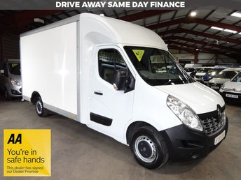 2016 RENAULT MASTER 2.3 LL35 BUSINESS DCI L/R LUTON 125 BHP LO LOADER - EURO 6 - £10750.00