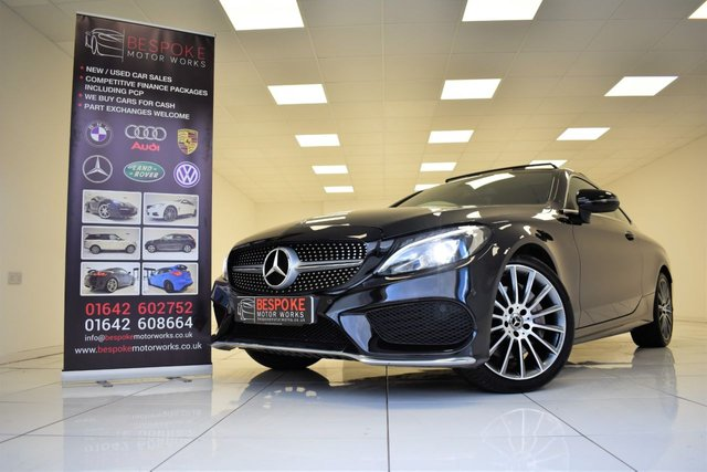 2017 17 MERCEDES-BENZ C CLASS C250D AMG LINE PREMIUM PLUS AUTOMATIC