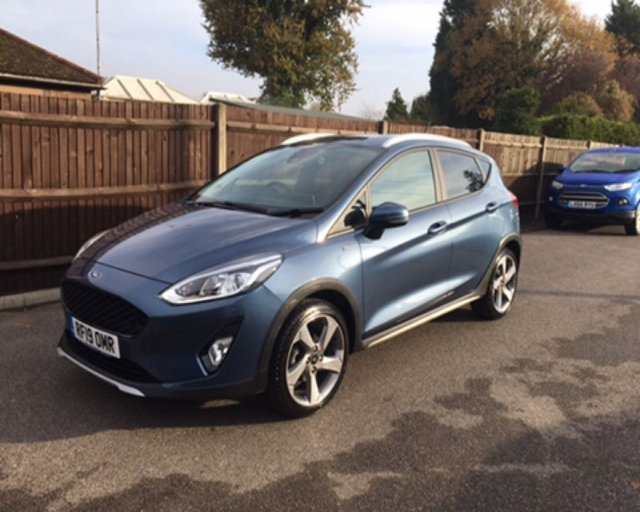 2019 19 FORD FIESTA 1.0 ACTIVE 1 ECOBOOST 100 BHP