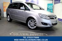 USED 2009 K VAUXHALL ZAFIRA 2.2 ELITE 5d 154 BHP Full Leather, great history