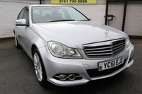 2011 MERCEDES-BENZ C CLASS 2.1 C220 CDI BLUEEFFICIENCY ELEGANCE ED125 4d 170 BHP £6750.00