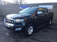 USED 2016 66 FORD RANGER 2.2 LIMITED 4X4 DCB TDCI 4d 148 BHP