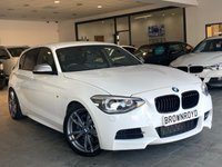 USED 2014 14 BMW 1 SERIES 3.0 M135I 5d 316 BHP SAT NAV+LEATHER+XENONS+FSH