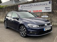 2016 VOLKSWAGEN GOLF 2.0 R LINE EDITION TDI BLUEMOTION TECHNOLOGY 5d 148 BHP £13995.00