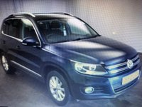2012 VOLKSWAGEN TIGUAN 2.0 SE TDI BLUEMOTION TECHNOLOGY 5d 138 BHP £8000.00