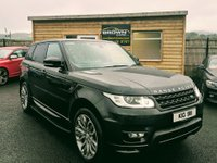 2015 LAND ROVER RANGE ROVER SPORT 3.0 SDV6 AUTOBIOGRAPHY DYNAMIC 5d AUTO 306 BHP £32500.00