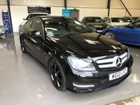 2012 MERCEDES-BENZ C CLASS 2.1 C250 CDI BLUEEFFICIENCY AMG SPORT 2d AUTO 204 BHP £9495.00