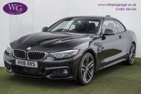 2018 BMW 4 SERIES 3.0 435D XDRIVE M SPORT 2d AUTO 309 BHP £28995.00