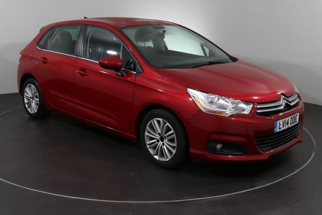2014 14 CITROEN C4 1.6 E-HDI VTR PLUS EGS 5d AUTO 115 BHP
